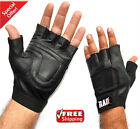 RAD Leather Weight Lifting Gloves Gym Fitness Exercise Body Building M-XXL New
