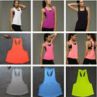 Women's fitness Tank Top Athletic Yoga clothes T-shirt running Gym Jogging Vest