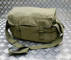 ARMY Style Green Canvas / Haversack / Satchel / Festival Shoulder Bag - NEW