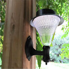 Solar Power 16 LED Fence Gutter Light Outdoor Garden Path Wall Tree Lamp
