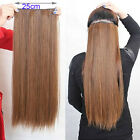 """30"""" Thick Set Full Head One Piece Clip In Remy Human Hair Extensions 180G"""