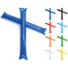 10 x Inflatable Cheer Sticks Thunder Tube Baton For Party Football Euros Cup