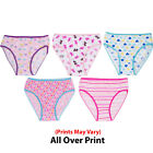 Girls Panties Underwear for Kids 5PCK Size  4- 16 PRINTS MAY