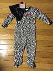NWT Girls Carter's Just One You Halloween Animal Print One Piece w/Hat Inf Szs