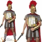 Mens Deluxe Roman Warrior Gladiator Centurion Soldier Fancy Dress Costume Outfit