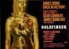 Home Wall Print - Vintage Movie Film Poster - JAMES BOND GOLDFINGER -A4,A3,A2,A1 £15.99 GBP on eBay