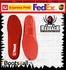 New Redback Work Boots Black Replacement Footbeds UK SIZE