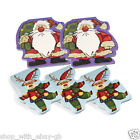 SET OF 5 MINI CHRISTMAS NOTE PADS STOCKING FILLERS GIFT FATHER CHRISTMAS BN