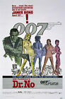 Home Wall Art Print - Vintage Movie Film Poster - DR NO JAMES BOND - A4,A3,A2,A1 £5.99 GBP on eBay