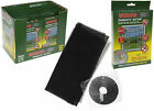 BLACK MESH 1M X 1.2 METRE WINDOW FLY/BUG/INSECT PROTECTOR SCREEN - NET/NETTING