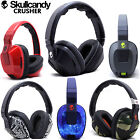 New Skullcandy Crusher Stereo Headset Supreme Sound Mic+ Amp Bass Black White