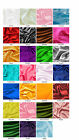 """BRIDAL SATIN FABRIC 60""""X20yds Wedding Dress Party Favor Decoration Table Covers"""