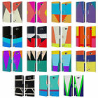 HEAD CASE DESIGNS COLOUR BLOCKING LEATHER BOOK CASE FOR SAMSUNG GALAXY NOTE 2 II