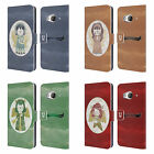 HEAD CASE DESIGNS CHRISTMAS ANGELS LEATHER BOOK WALLET CASE COVER FOR HTC ONE ME