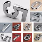1x New ABS Modern House Numbers Letterbox Door Digits Numeral Plate Plaque Sign