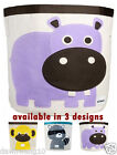 NEW Baby Kids Cartoon Canvas Storage Bins Toys Container Organiser  Bag