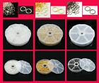 Large Box Mixed Size Jump Rings (over 1750) - Choice of Colour FREE POSTAGE