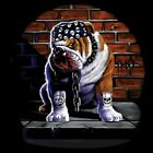 Fantasy Biker Chopper Gothic Sweatshirt Bulldogge Tuff Dog Sidewalk S - 5XL