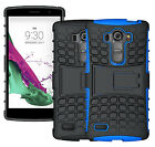 For LG G4 Beat H735 / G4S Case ShockProof Hybrid Armor Kickstand Phone Cover