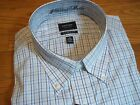 NWT $45. MSRP, Mens Arrow Classic Fit No Iron Heritage Poplin Cotton Blend Shirt