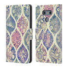 OFFICIAL MICKLYN LE FEUVRE PATTERNS LEATHER BOOK WALLET CASE FOR LG PHONES 1