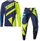 NEW 2017 SHIFT RACING BLACK LABEL MAINLINE COMBO DIRT BIKE FLO YELLOW ALL SIZES