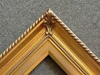 "3.25"" Gold Wood Antique Picture Frame photo art gallery 296G frames4art"