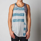 Fox Racing Addle Toddler Kids Tank Top Heather Gray/Blue