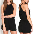 Sexy Women Lady Halter Playsuit Bodycon Party Jumpsuit Romper Trousers Clubwear