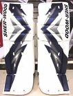New Sherwood T90 Pro hockey goalie senior sr pads 35""