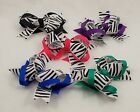 "New Large Zebra Print 5 Colors to Pick From Girls Hair 2"" Clip"