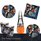 Space Blast Boys Birthday Party Plates Cups Napkins