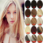 "Hair Extensions Full Head Clip in 100% Remy Human Hair 20"" 7pcs 15 Colors"