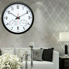 Retro Round Wall Clock • Quartz Silent...