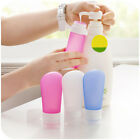 Useful Silicone Travel Packing Press Bottle for Lotion Shampoo Bath Container