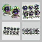 3mm Matched Lot 2,6,10pcs Round Cut Natural MYSTIC GREEN TOPAZ