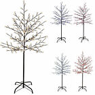 5 ft 200 LED Illuminated Cherry Blossom Tree with Brown Trunk and Branches