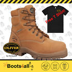 Oliver Men's Safety Work Boots Non Metallic Lace Up METAL FREE Lightweight 45632