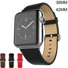 Leather Watch Strap Band Bracelet Watchband For Apple Watch iWatch 38/42mm