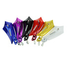 2PCS Universal Motorcycle Motorbike Scooter Bike Rear View Side Mirrors 6 colors