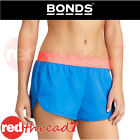 BONDS Active Womens Running Short Shorts Gym Blue Pink Sports Size XS L Low Cut
