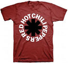 Official Red Hot Chili Peppers Black Asterisk T-Shirt -Metal Rock Band Music Tee