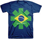 Official Red Hot Chili Peppers Brazil Asterisk Adult T-Shirt -Funk Metal Rock Ba