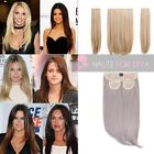 """NEW LADIES THREE PIECES 18"""" STRAIGHT CLIP IN SYNTHETIC HAIR EXTENSION KOKO ELLE"""