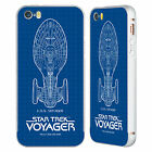 STAR TREK SHIPS OF THE LINE VOY SILVER SLIDER CASE FOR APPLE iPHONE PHONES