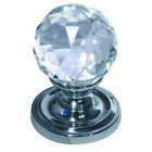 Frelan 60mm Crystal Mortice Knob