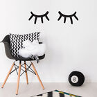 Sleepy Eyes Lazy Lashes Wall Sticker Art Decor Transfer Mural Nursery Decal M25