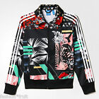 ADIDAS Originals Women Floral Football Firebird Soccer Track Top Jacket S M L