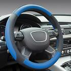 """Universal 14.96"""" 3 Colors Microfiber Leather Auto Car Steering Wheel Cover"""