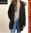 Neu Hollister Damen White Point Parka schwarz  Gr.XS,S,M,L UVP:170€